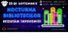 În R.Moldova va avea loc Nocturna Bibliotecilor, în parteneriat cu Ministerul Educației, Asociația Națională a Bibliotecarilor și Bibliotecilor Publice din România și Irex Europe