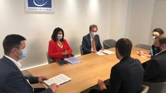 Conducerea CEC a discutat cu reprezentanții Comisiei de la Veneția despre modificarea Codului electoral