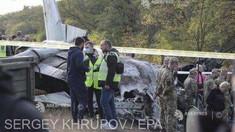 Tragedia aviatică din Ucraina | Numărul morților a ajuns la 26. Au fost găsite cutiile negre ale avionului militar prăbușit