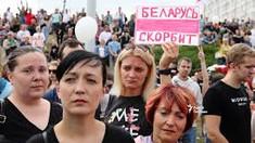 Nou protest al femeilor în Belarus: Poliția a început din nou arestările