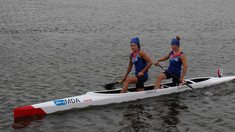 Caiac-canoe | Daniela Cociu și Maria Olărașu au cucerit argintul la Cupa Mondială