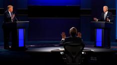 Alegeri în SUA | Donald Trump și Joe Biden, în dezbaterea finală