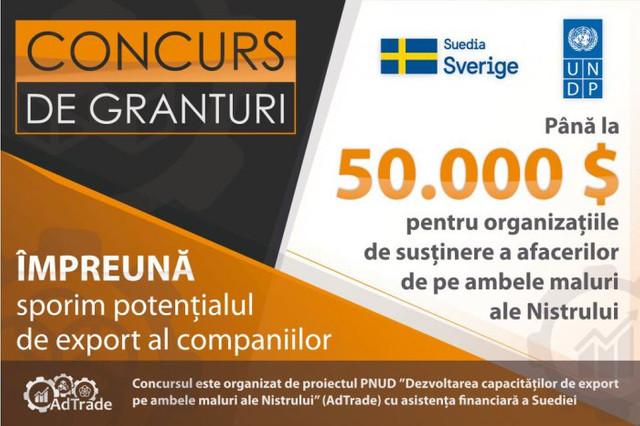Suedia și PNUD susțin afacerile de pe ambele maluri ale Nistrului. Vor acorda granturi pentru dezvoltare