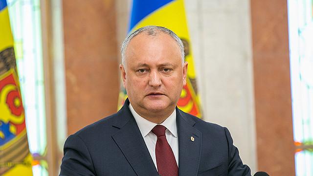 Reacția lui Igor Dodon la evenimentele de astăzi din Parlament