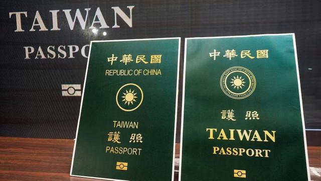 Taiwanul va schimba coperta pașaportului său, pentru a nu mai fi confundat cu China
