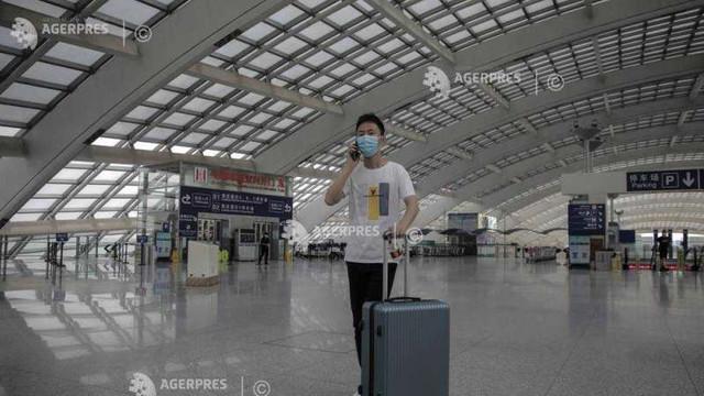 Coronavirus: Cursele aeriene internaționale spre Beijing vor fi reluate după o pauză de șase luni