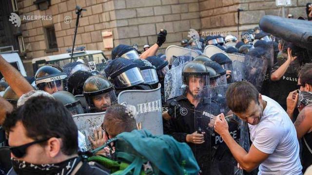 Bulgaria: Zeci de răniți în timpul unei manifestații violente la Sofia împotriva premierului Borisov