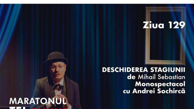 """Teatrul Național """"Eugene Ionesco"""" își va deschide stagiunea cu un spectacol de Mihail Sebastian"""