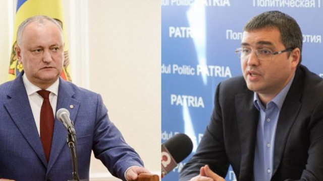 Renato Usatîi: Dodon vrea să mai umble prin țară, să arate că este un președinte grijuliu