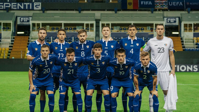 Naționala R.Moldova a remizat cu Kosovo