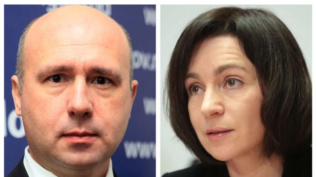 Un deputat PSRM susține că Pavel Filip și Maia Sandu ar fi avut o întrevedere pentru a discuta despre demiterea Guvernului. Reacția PAS