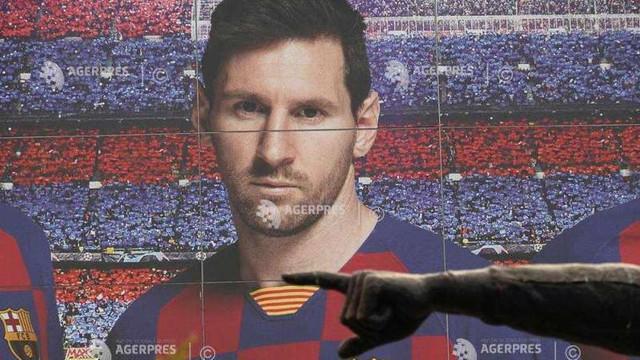 Fotbal: Trei posibile deznodăminte ale conflictului Messi - FC Barcelona (AFP)