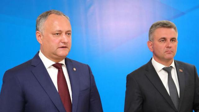 Igor Dodon planifică o discuție cu Vadim Krasnoselski despre posturile ilegale din Zona de Securitate