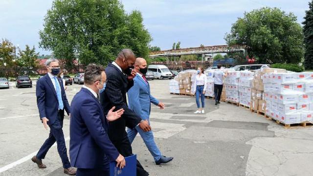 Ambasada SUA a donat echipamente în valoare de 93 de mii de dolari pentru MAI și MJ