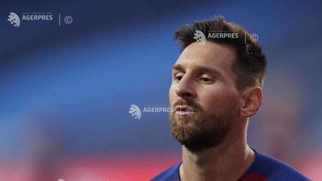 Fotbal: Messi a anunțat că rămâne la FC Barcelona