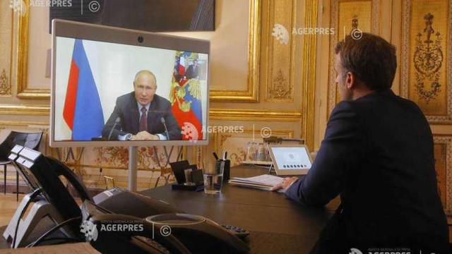 Macron denunță o 'tentativă de asasinat' și îi cere lui Putin clarificări. Răspunsul Kremlinului