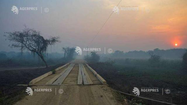 Brazilia declară stare de urgență din cauza incendiilor ce au cuprins regiunea Pantanal