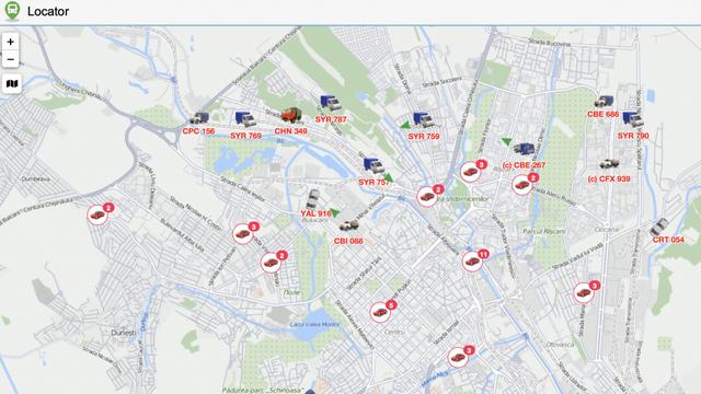 HARTĂ online | Oricine poate urmări unde și când lucrează autospecialele în Chișinău