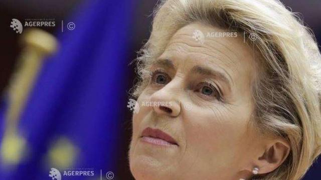 Președinta CE, Ursula von der Leyen, a prezentat un plan de luptă pentru relansare și climă (AFP)