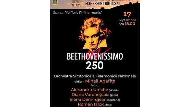 Filarmonica Națională va prezenta la Butuceni un concert dedicat compozitorului Ludwig van Beethoven