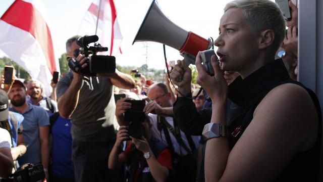 Opozanta bielorusă Maria Kolesnikova, inculpată pentru periclitarea securității naționale. Câți ani de închisoare riscă