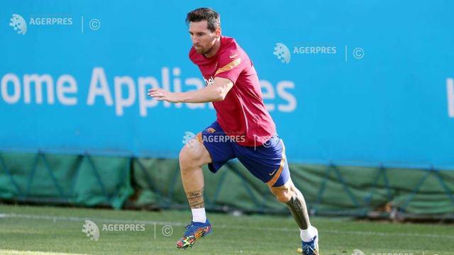 Fotbal: Lionel Messi, în lotul Argentinei pentru primele meciuri din preliminariile CM 2022