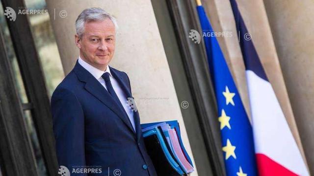 Ministrul francez al Economiei și Finanțelor, Bruno Le Maire, testat pozitiv cu COVID-19