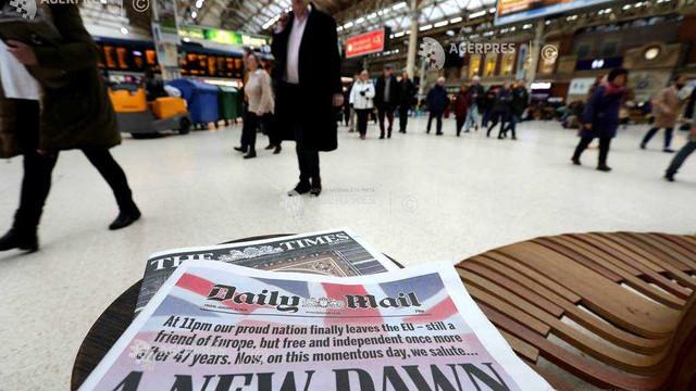 Regatul Unit: Laburiștii îi egalează pe conservatori într-un sondaj YouGov prima oară în mandatul premierului Johnson