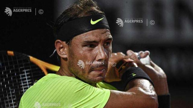 Tenis: Rafael Nadal, eliminat în sferturile de finală la turneul de la Roma (ATP)