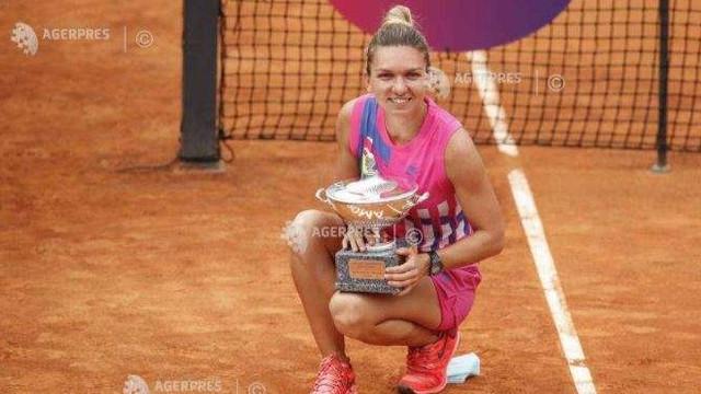 Tenis: Simona Halep și-a consolidat poziția a doua în clasamentul WTA după titlul cucerit la Roma