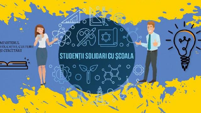 Studenții vor fi implicați în calitate de educatori, învățători și profesori în școli