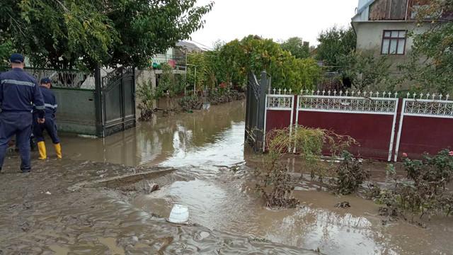 FOTO/VIDEO   Dezastru în mai multe localități din sudul R.Moldova din cauza ploilor abundente