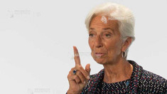 Lagarde crede că schimbările climatice pot îngreuna politica monetară