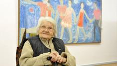 Pictorița Valentina Rusu-Ciobanu a împlinit un centenar de la naștere