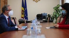 Deplasarea unor vehicule de la Tiraspol spre depozitul de muniții rusești de la Cobasna și răpirile de persoane - principalele subiectele abordate de vicepremierul pentru Reintegrare cu șeful Misiunii OSCE în R.Moldova