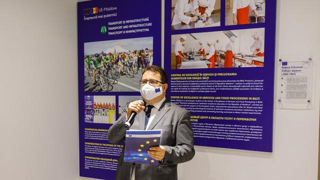 GALERIE FOTO   Deschiderea centrului de informare Europe Cafe. Peter Michalko: Va deveni inima Uniunii Europene la Chișinău