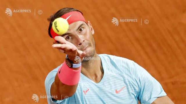 Tenis: Rafa Nadal, calificat fără probleme în optimi la Roland Garros