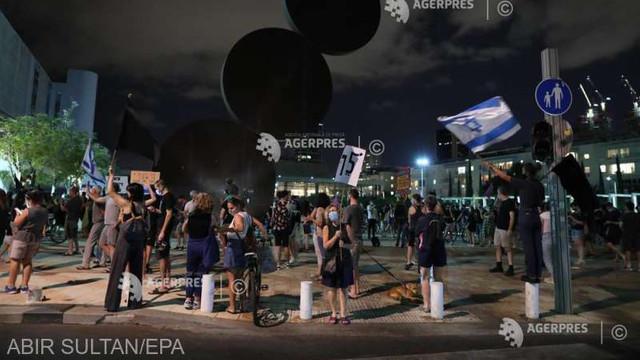 Coronavirus: Zeci de arestări la Tel Aviv după instituirea restricțiilor privind organizarea protestelor