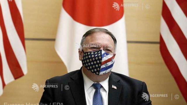 În vizită în Japonia, Pompeo atacă direct China