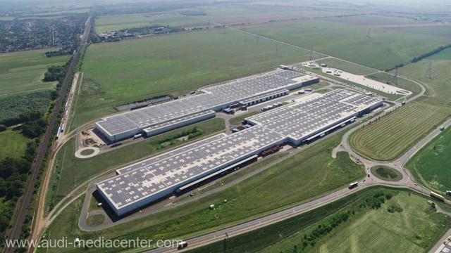Audi și E.ON au pus în funcțiune cel mai mare sistem fotovoltaic de pe acoperiș din Europa