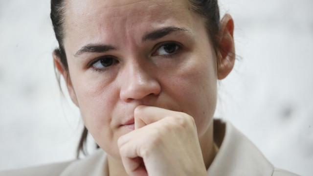Rusia a emis un mandat de arestare pentru Svetlana Tihanovskaia