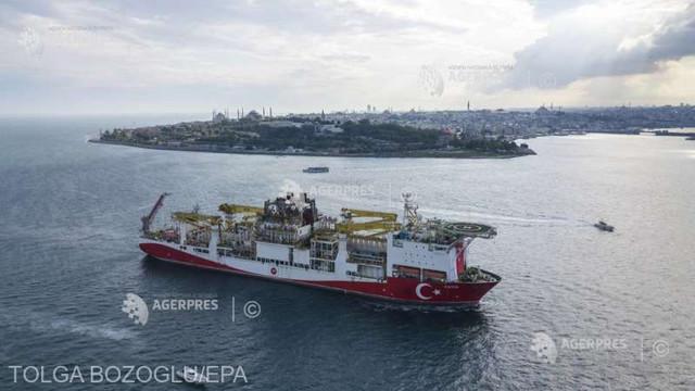 Turcia ar putea revizui în creștere zăcămintele de petrol din Marea Neagră (Bloomberg)