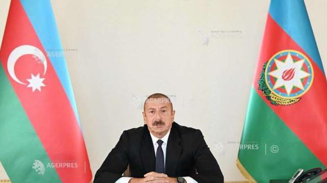 Nagorno-Karabah: Președintele azer cere răzbunare pentru 13 civili uciși în Azerbaidjan