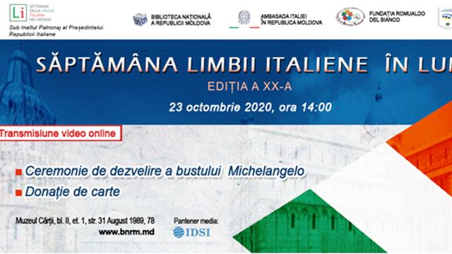Săptămâna Limbii Italiene în lume