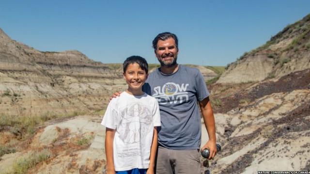 Descoperire uluitoare, veche de 69 de milioane de ani, făcută de un băiat de 12 ani