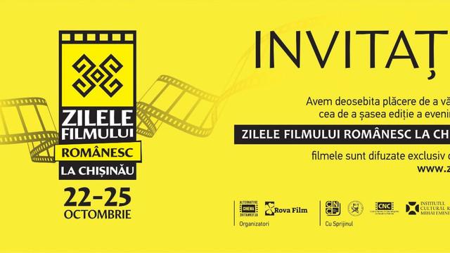 Unsprezece lungmetraje vor putea fi văzute în cadrul celei de-a șasea ediții a evenimentului cinematografic Zilele Filmului Românesc la Chișinău