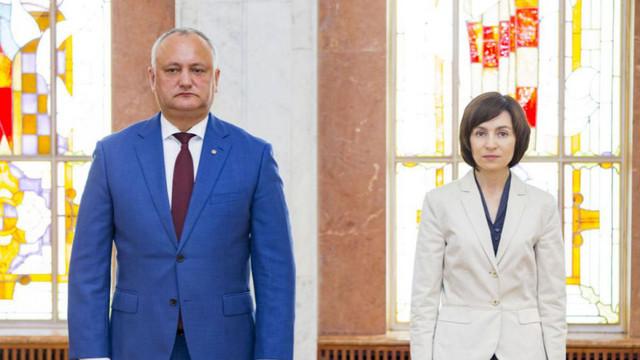 SONDAJ   Igor Dodon și Maia Sandu au cele mai multe șanse la alegerile prezidențiale din 1 noiembrie
