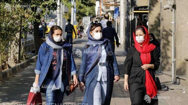 Iranul anunță 337 de noi decese legate de COVID-19 în 24 de ore, o cifră record