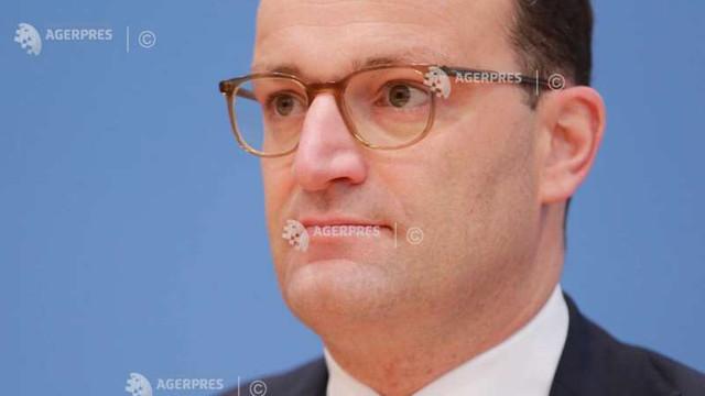 Ministrul german al sănătății, testat pozitiv la noul coronavirus