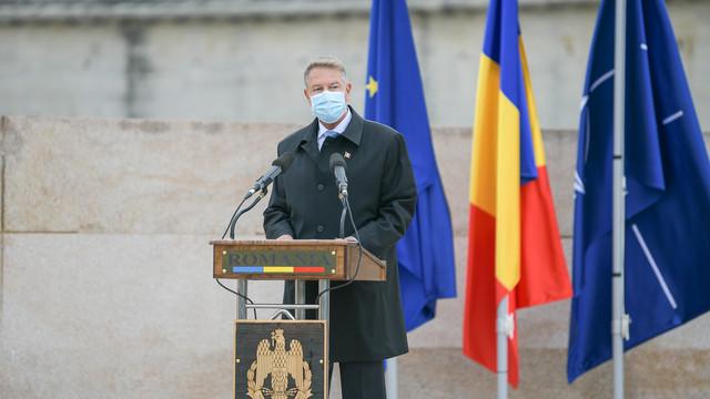 Klaus Iohannis, de Ziua Armatei României: Țara noastră are o armată bine pregătită, care asigură îndeplinirea angajamentelor asumate în cadrul NATO și implementarea Politicii de Securitate și Apărare Comună a UE